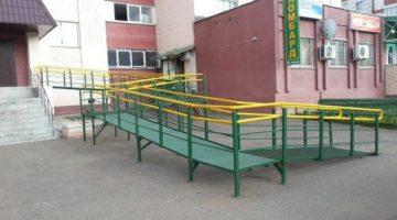 Пандусы для инвалидов: изготовление и установка в Волгограде