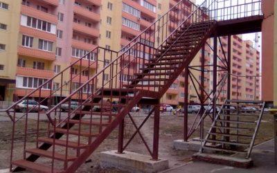 Изготовление металлических лестниц в Волгограде