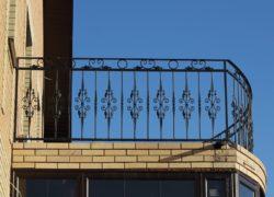 Металлические ограждения балконов в Волгограде