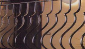 Кованая решетка для ограждения