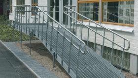 Пандус металлический для инвалидов и колясок