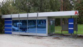 Остановочный комплекс с павильоном