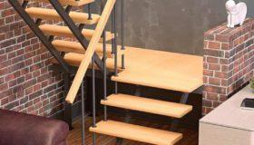 Металлическая лестница для помещения (Вар.5)